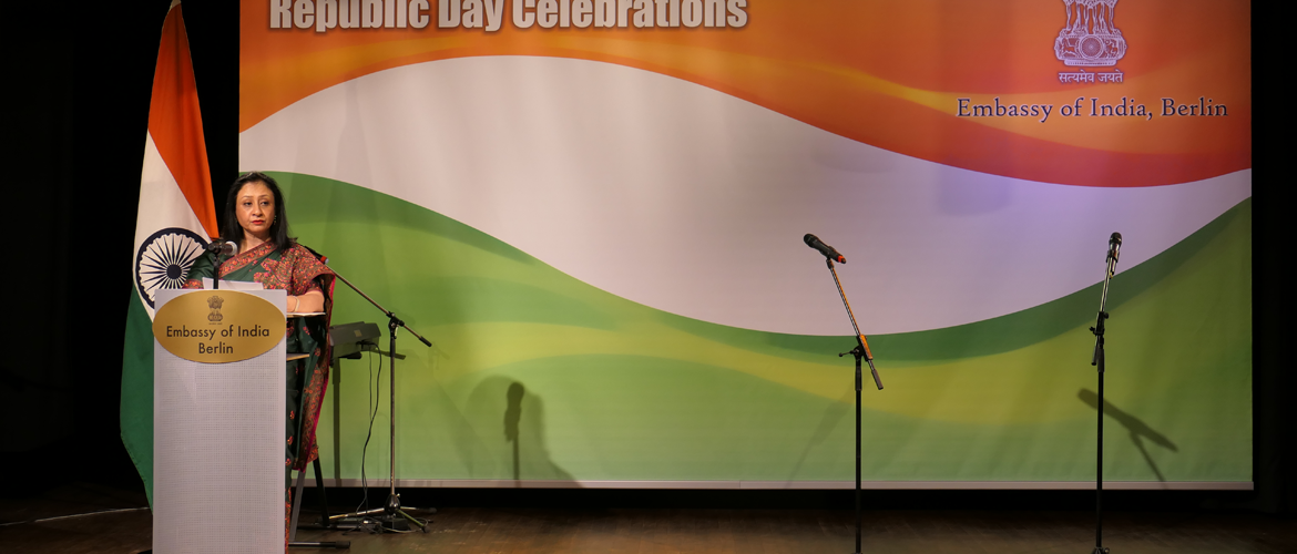Ambassador Mukta Dutta Tomar on the occasion of Republic Day, 26 January 2020